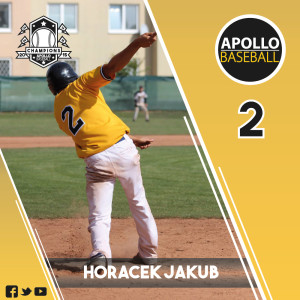 Apollo Baseball - Horacek Jakub, #2