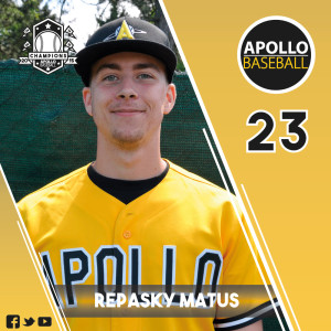 Apollo Baseball - Repasky Matus, #23